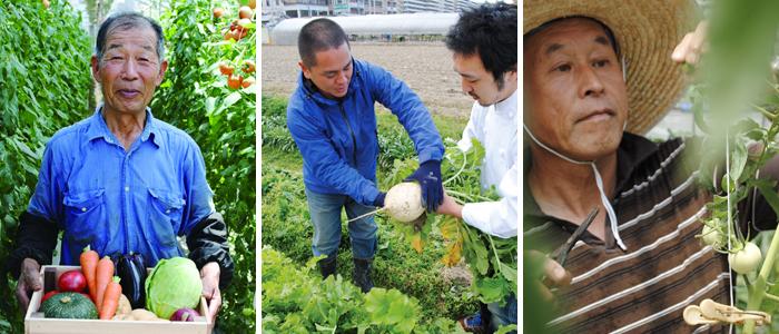 契約農家直送野菜